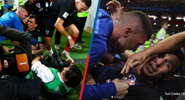 ¿Quién es y cómo fueron las imágenes que logró el fotógrafo al que aplastaron los croatas?