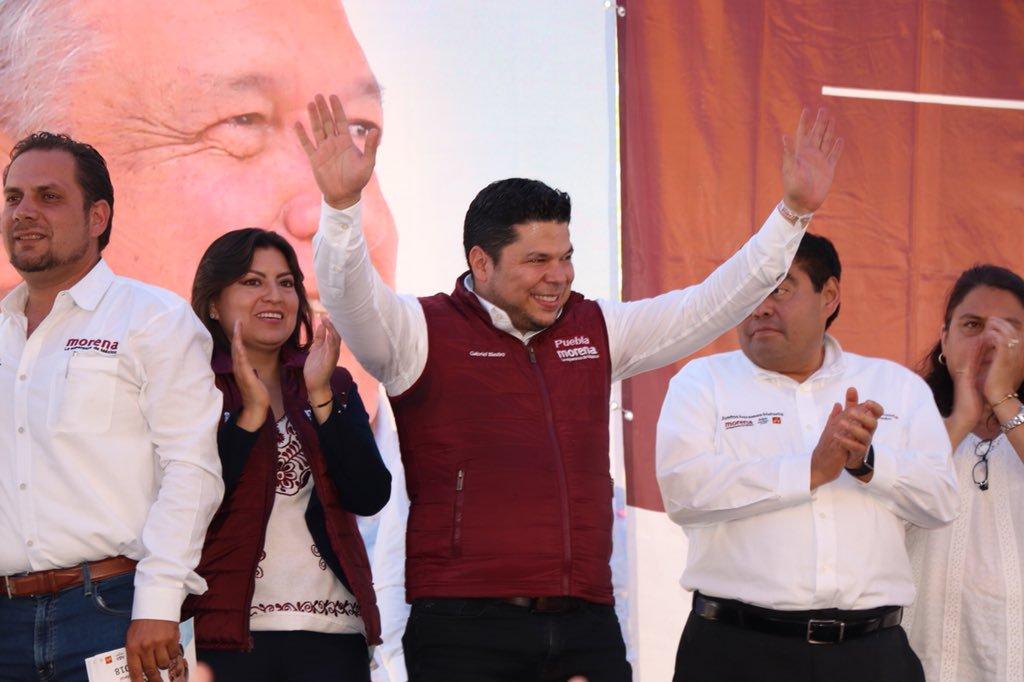 Gabriel Biestro, dirigente de Morena en Puebla