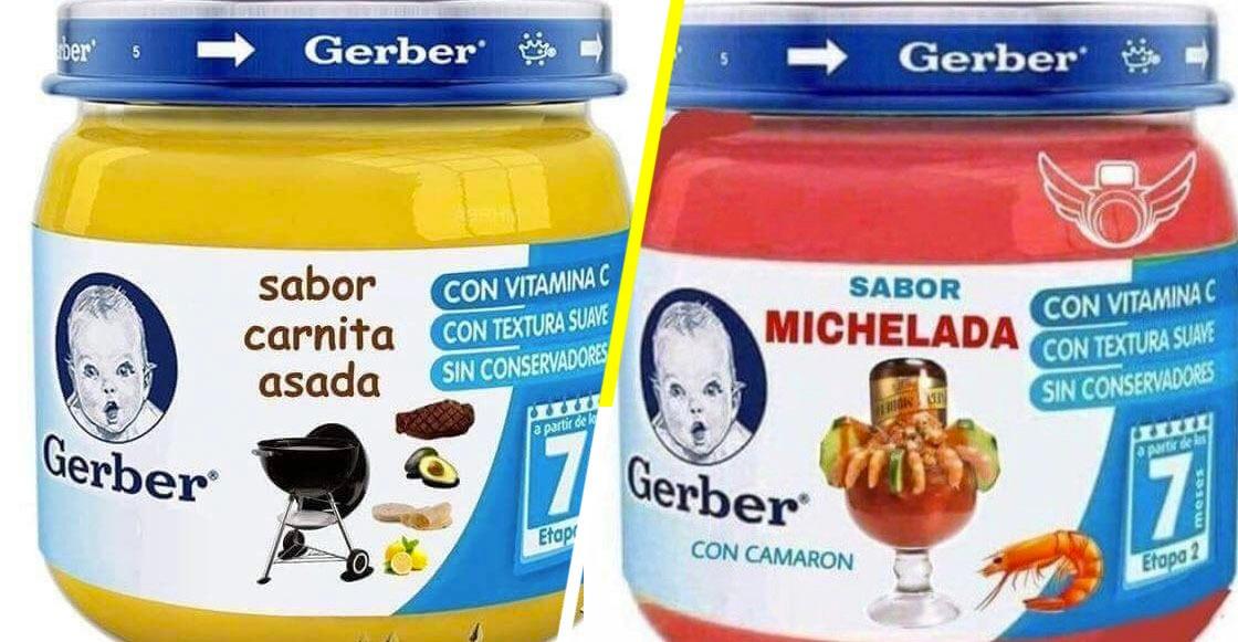 Trenes del internet presenta: ¿Comida de bebé con sabores para adultos?