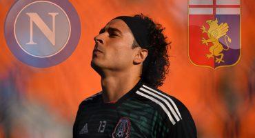 Representante de Ochoa viajará a Italia para escuchar ofertas del Nápoles y Génova