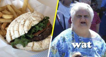 Un equipo de beisbol vende hamburguesas de concha en sus juegos 😱