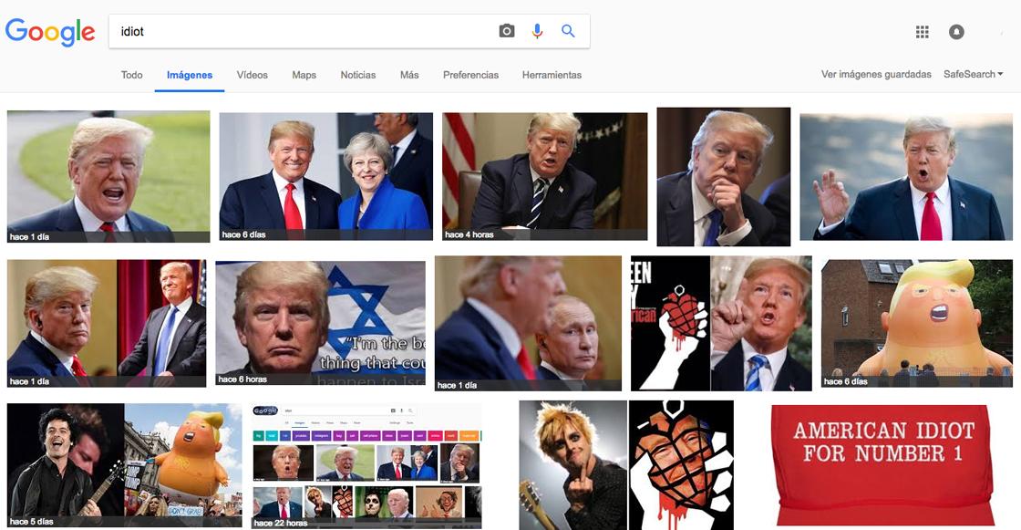 Si googleas la palabra