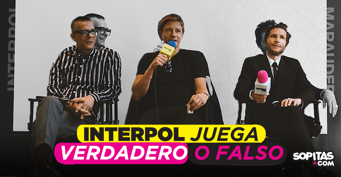 "Interpol derriba algunos mitos detrás de la banda en este ""Verdadero o Falso"""
