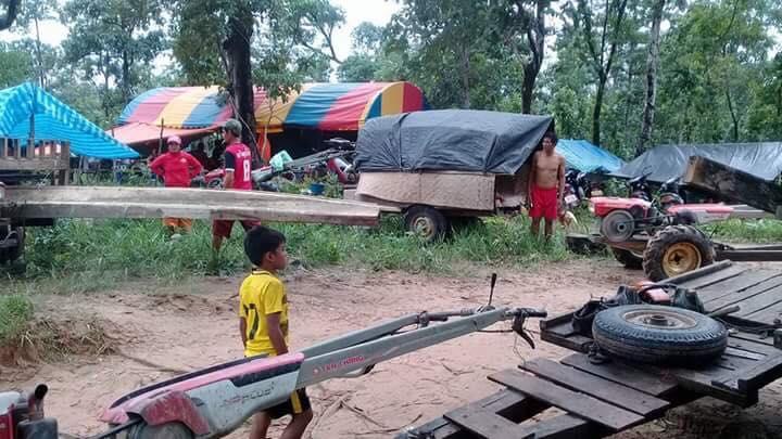 Derrumbe en presa deja inundación en Laos