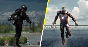 ¡Wow! Alguien inventó un traje para volar como Iron Man