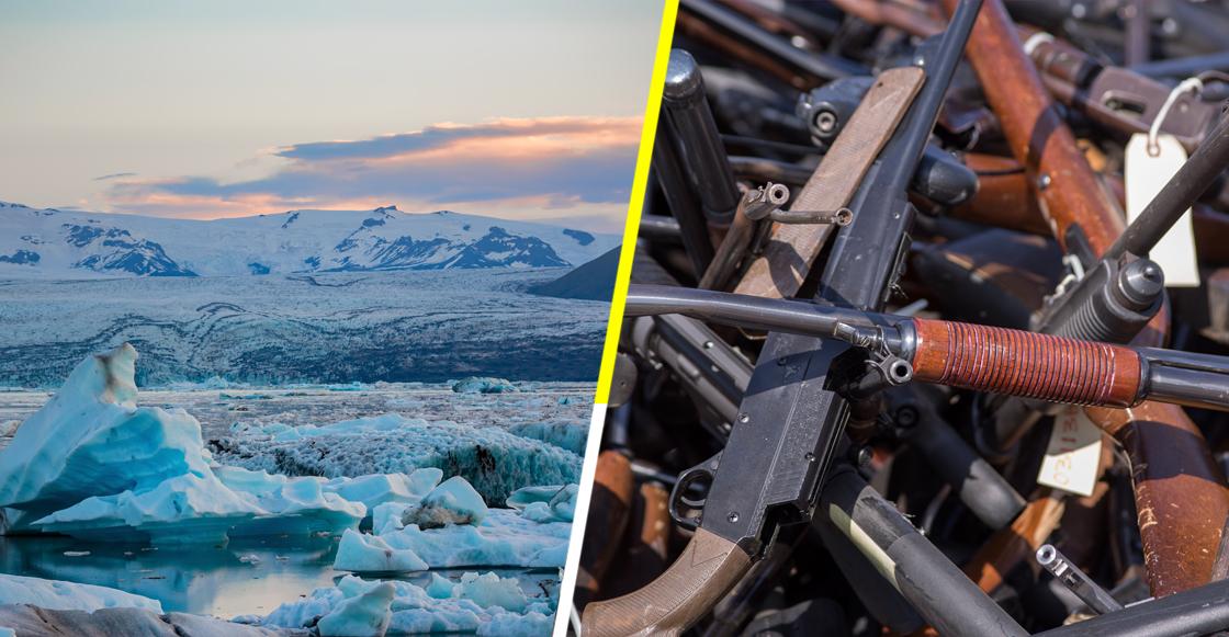 This is Iceland! En Islandia no ha habido un asesinato por arma de fuego desde 2007
