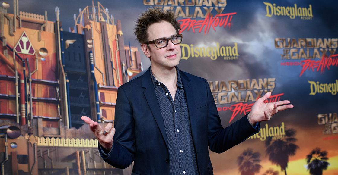 Despiden a James Gunn de 'Guardianes de la Galaxia Vol.3' por comentarios ofensivos