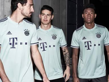 Bayern Munich FC News: Uniforme Del Bayern Munich Rojo Completo