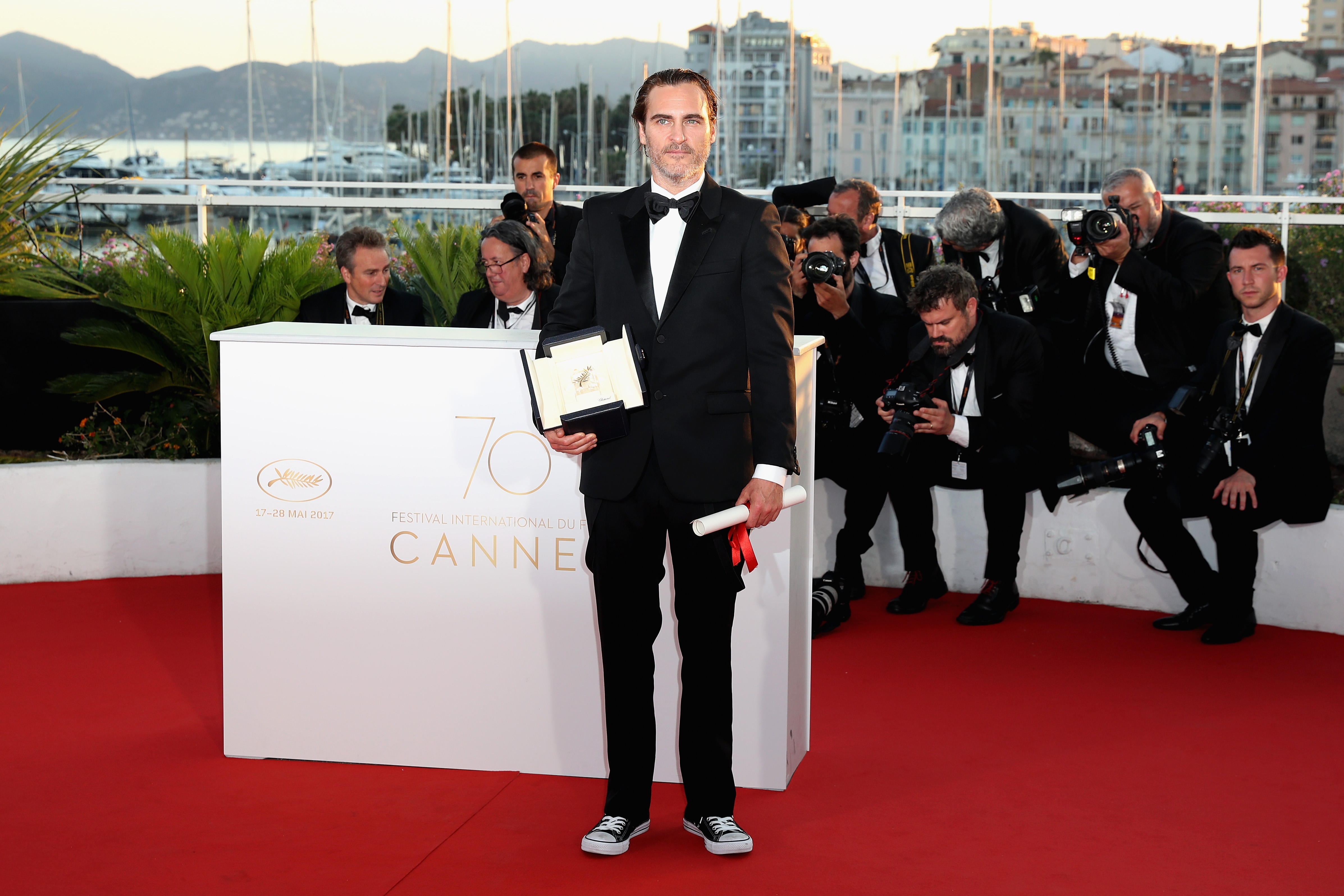 Ahora sí: El actor Joaquin Phoenix será 'The Joker'