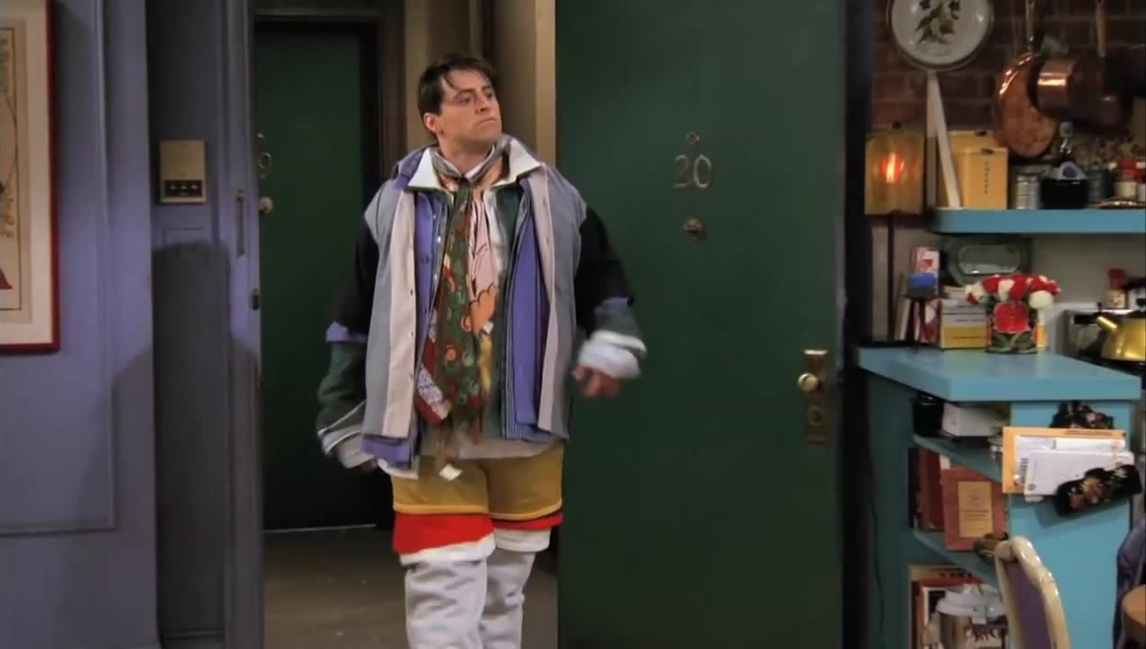 Joey en Friends