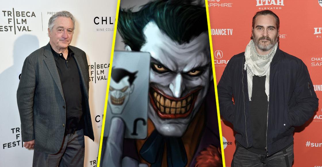 ¡Por favor! Robert De Niro podría unirse a 'Joker' junto a Joaquin Phoenix