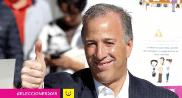 Jose Antonio Meade vota sin multitudes en la delegación Coyoacán