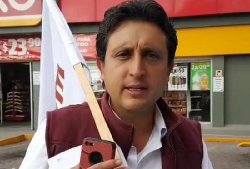 Juan José Espinosa, candidato Morena Puebla