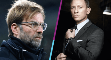 ¡Como Jefe! Jürgen Klopp saluda a James Bond e interrumpe a Guardiola