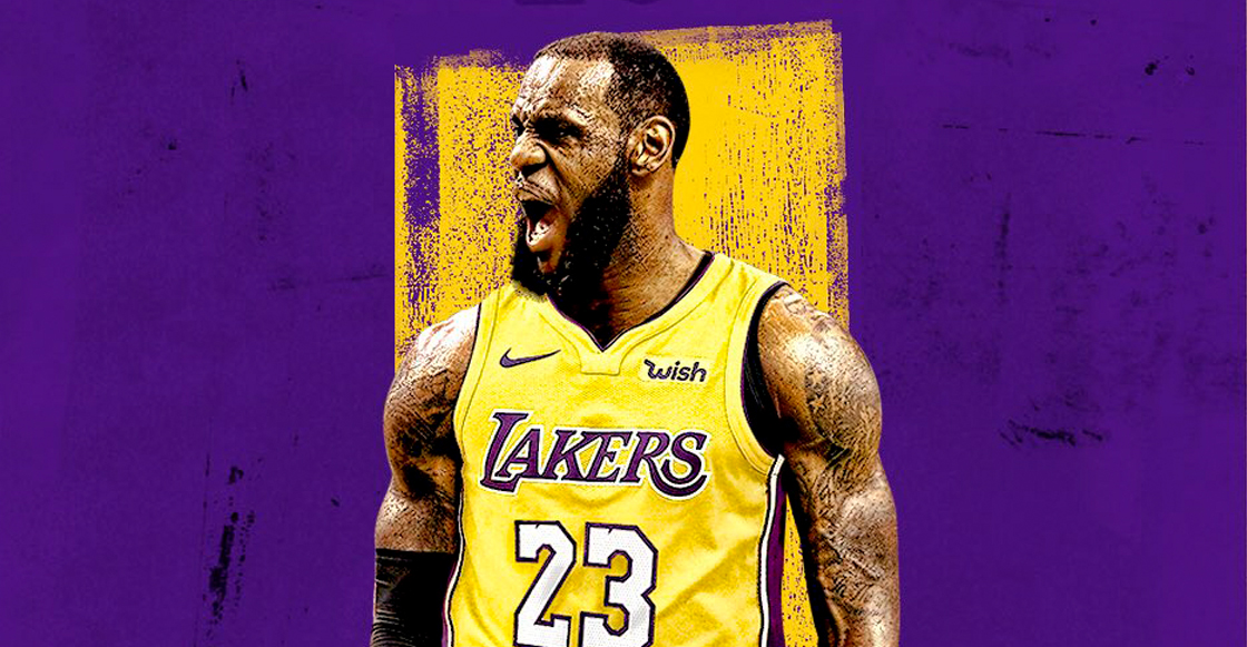 ¡Lebron James llega a los Lakers!