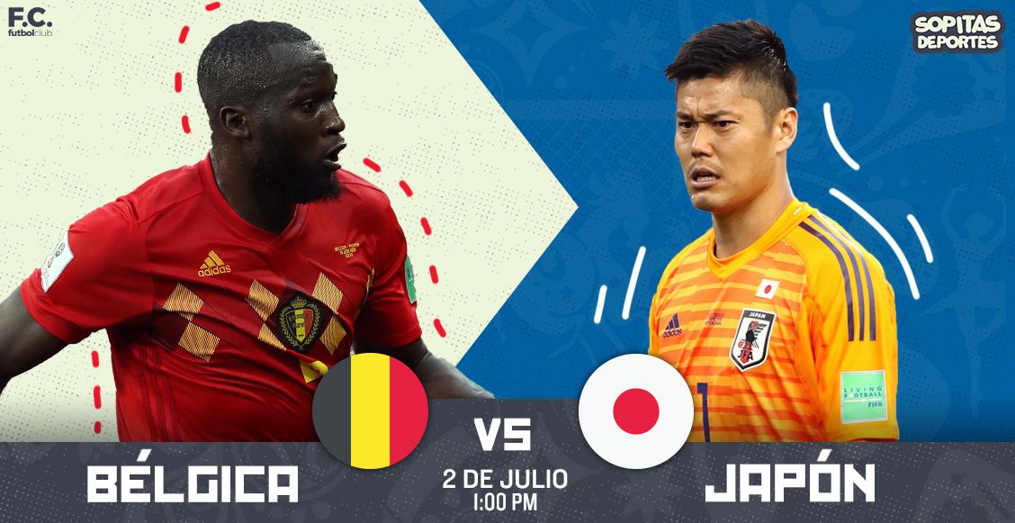 Sufrida clasificación de Bélgica, al último minuto: 3-2 sobre Japón