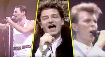 Para celebrar los 33 años del Live Aid, recordemos las mejores presentaciones del festival