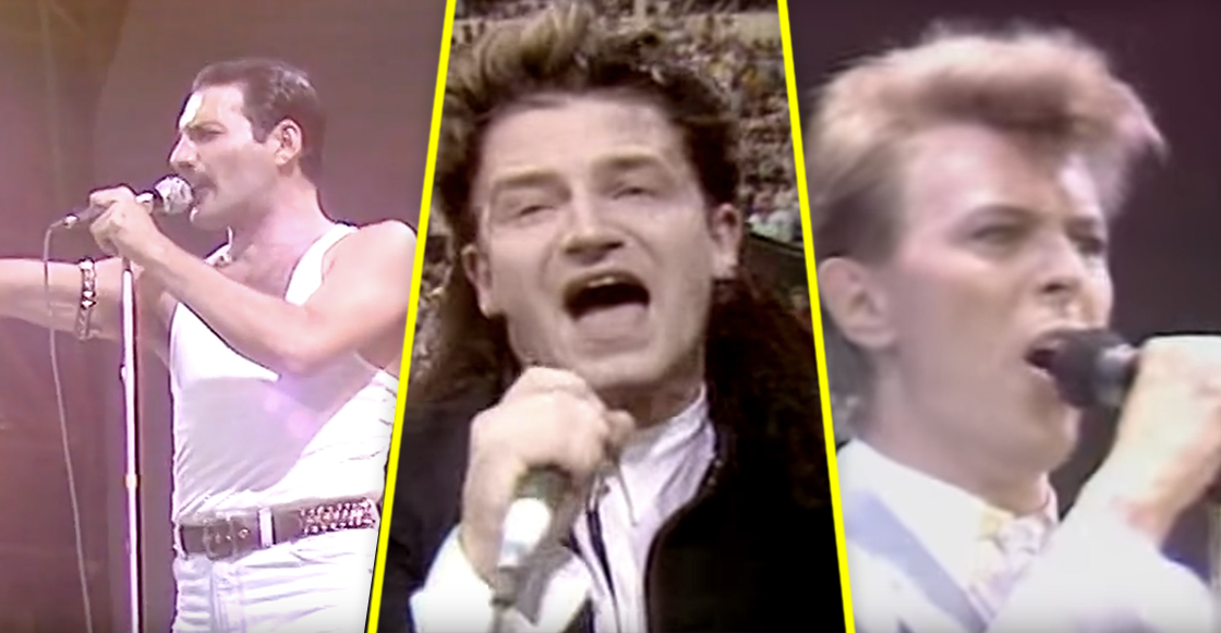 Para celebrar los 31 años del Live Aid, recordemos las mejores presentaciones del festival