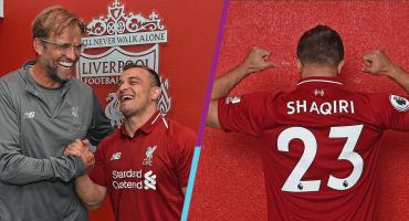 Con ustedes, el nuevo refuerzo del Liverpool: Xerdan Shaqiri