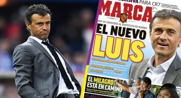 Prensa española da casi por hecho la llegada Luis Enrique a la Selección