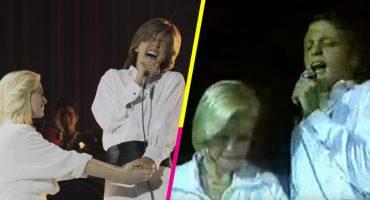 Así fue la última vez que Luis Miguel le cantó a su mamá en un escenario