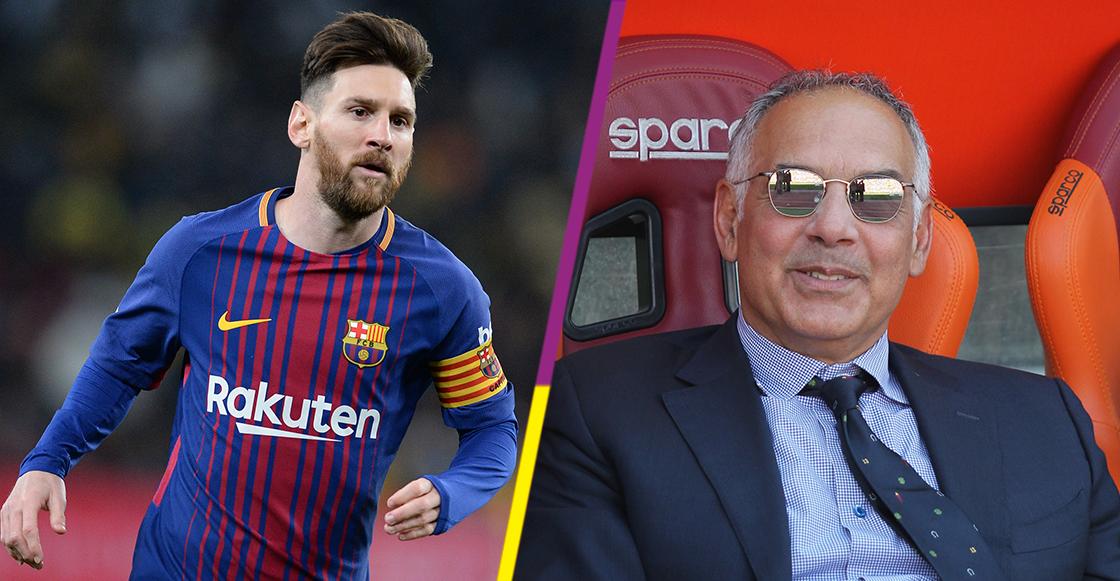 Acepto las disculpas del Barcelona si nos venden a Messi