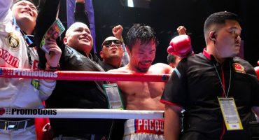 """Manny Pacquiao: """"Creo que aún tengo dos o tres combates para ofrecer"""""""