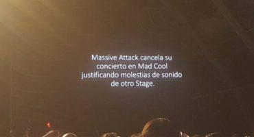 ¡Uy, pues qué delicados! Massive Attack cancela su show en el Mad Cool 2018