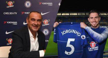 ¡Maurizio Sarri nuevo Técnico del Chelsea y Jorginho el primer refuerzo!