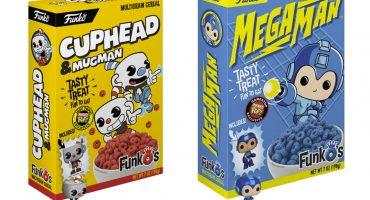 ¡Nerdgasmo! 'Cuphead' y 'Megaman' tendrán su propio cereal cortesía de Funko