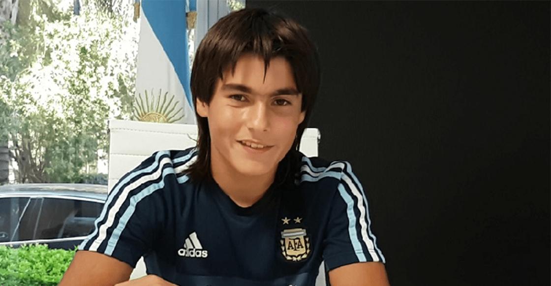 El 'Messi mexicano' que decidió jugar para Argentina