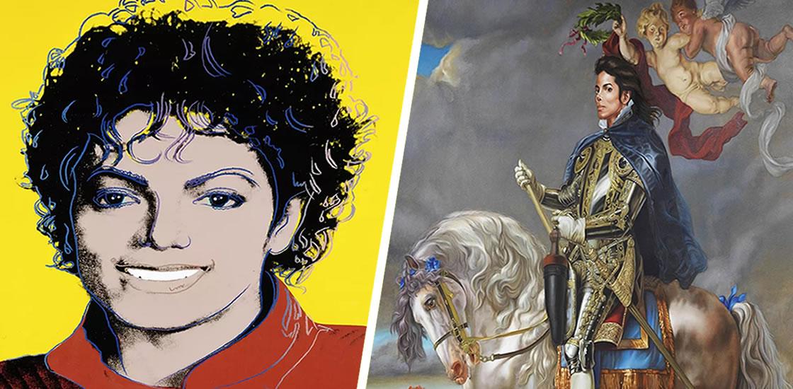 Así luce Michael Jackson como obra de arte