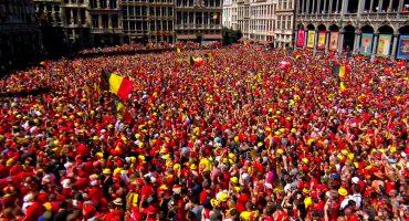 ¡Fiesta diabólica! Miles de aficionados reciben a Bélgica luego de Rusia 2018