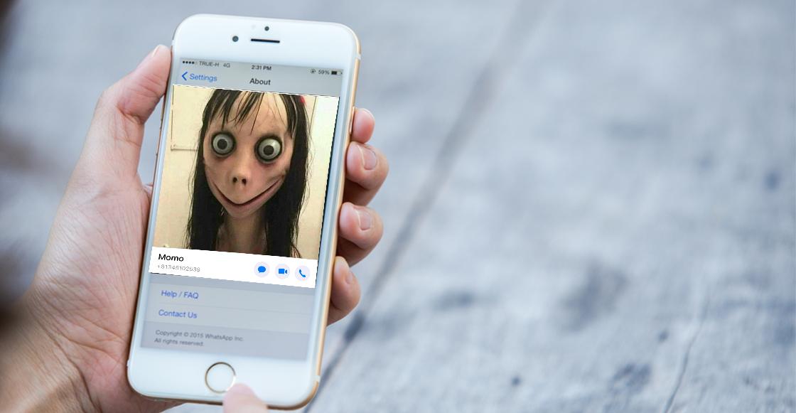 La historia de 'Momo', la criatura que está causando terror en WhatsApp