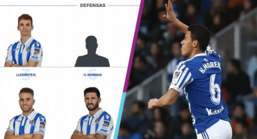 ¡Kha! La Real Sociedad 'elimina' de su página a Héctor Moreno