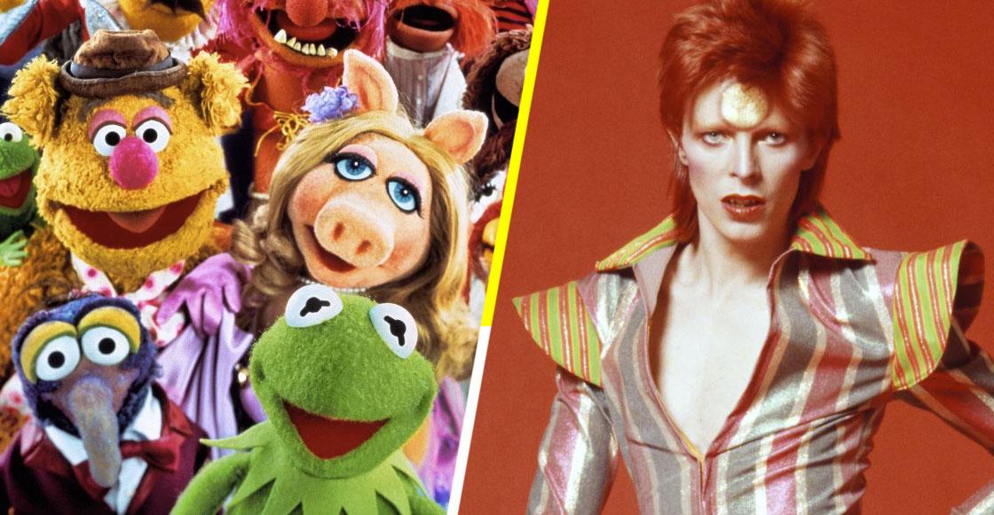Hey man! Checa el increíble cover que Los Muppets le hicieron a David Bowie