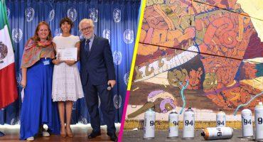 ¡La ONU otorga reconocimiento a los murales de la Central de Abastos!