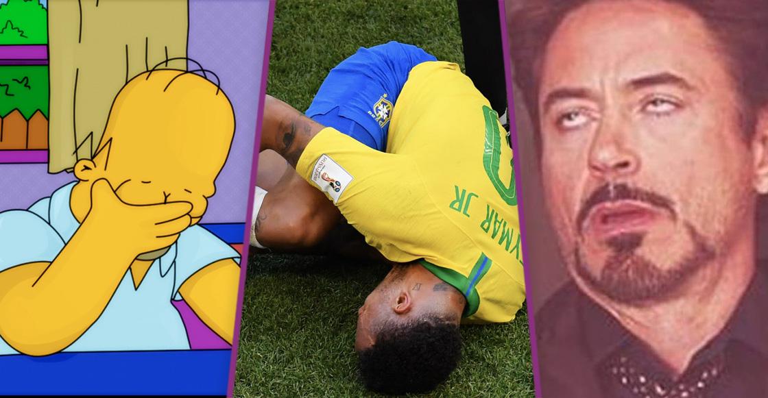 Neymar se ganó críticas de Maradona, Schmeichel y Shearer por sus caídas