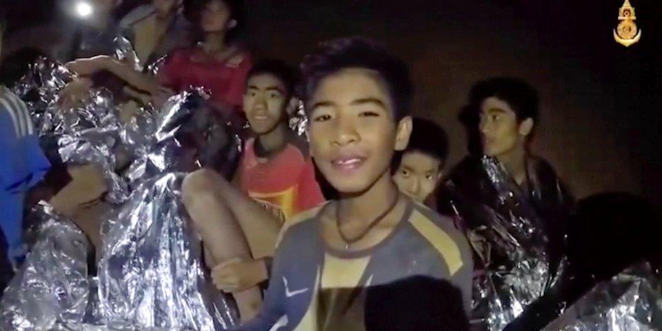 Esto es lo que los niños atrapados en las cuevas de Tailandia piden a sus padres a través de cartas