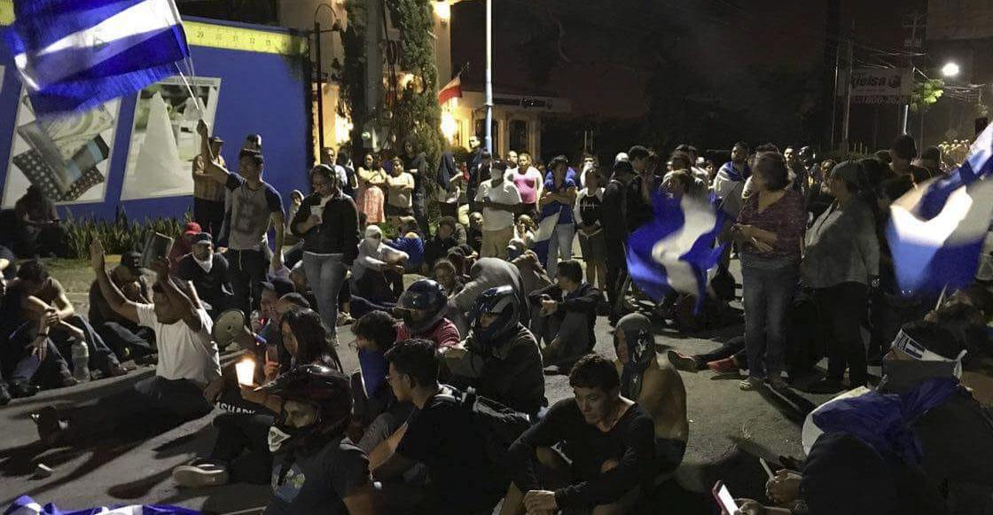 OEA condena a Nicaragua por represión y violencia