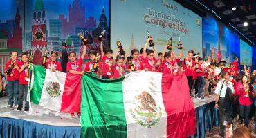 ¡Wow! 9 niños mexicanos se lucieron en torneo de matemáticas en Rusia