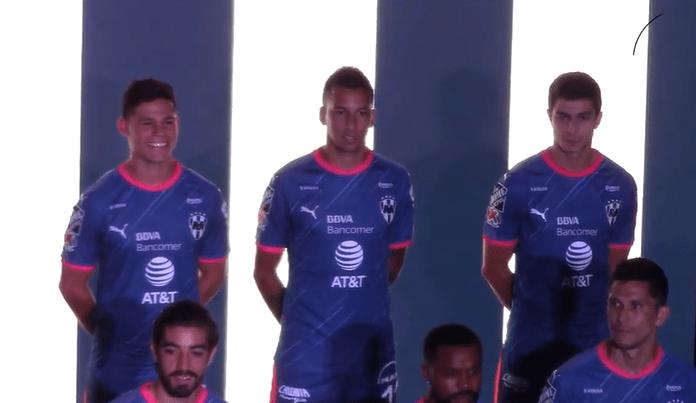 Monterrey presentó su nuevo uniforme para encarar el apertura 2018