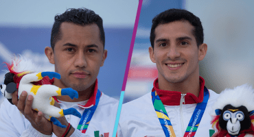 Rommel Pacheco y Jahir Ocampo, oro en los sincronizados de tres metros