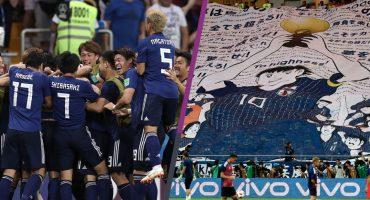 ¡Óliver Atom y los Súper Campeones fueron a apoyar a Japón!
