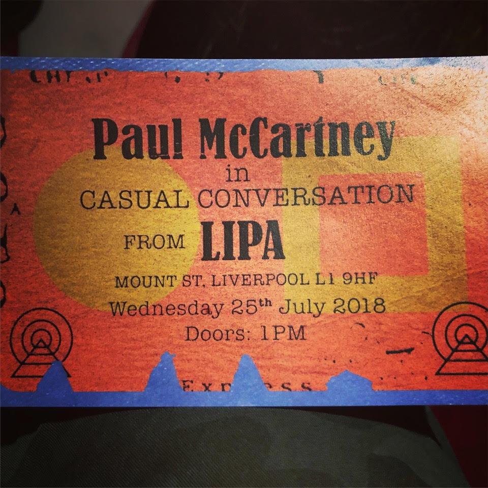 Desde Liverpool: La aparición sorpresa de Paul McCartney que pasará a la historia