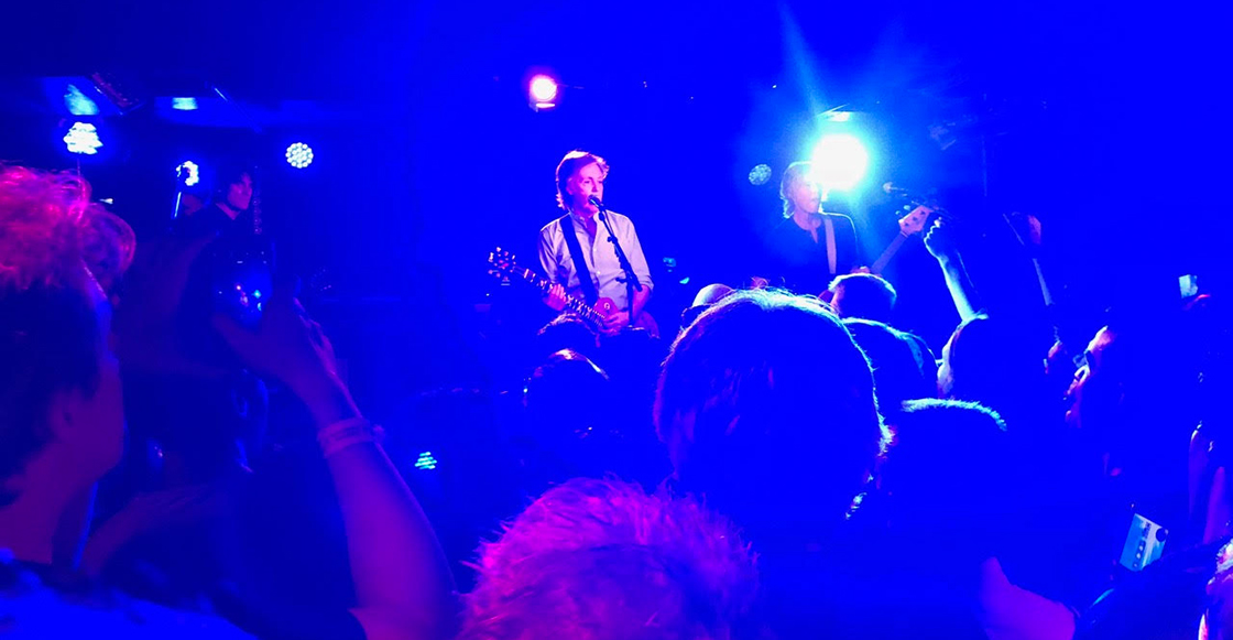 ¡Fotos y setlist del concierto de Paul McCartney en The Cavern Club!