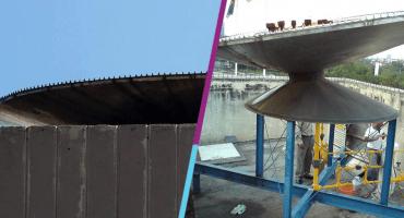 Así va la 'restauración' del Pebetero del Estadio Olímpico Universitario