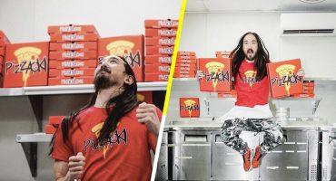 ¿Quién quiere pizza? Steve Aoki acaba de lanzar un nuevo negocio