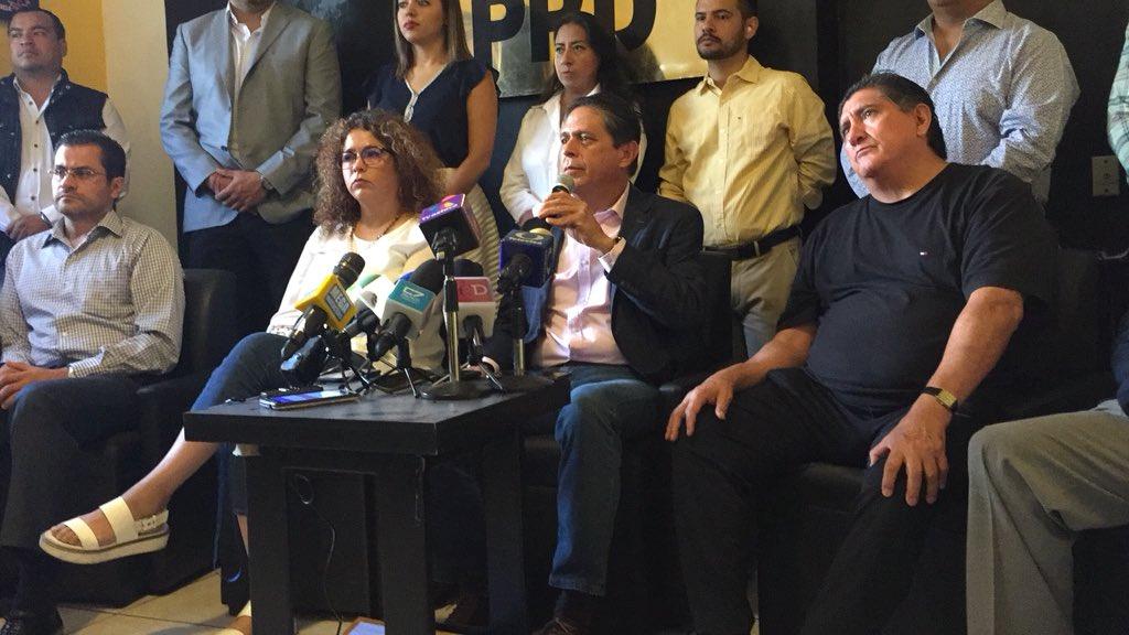 Líder estatal del PRD en Jalisco