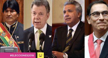 #Elecciones2018 Presidentes de otros países felicitan a AMLO